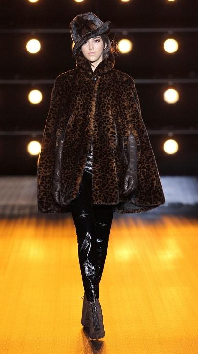 модные итальянские шубы Braschi норка в Милане зима 2018 2019