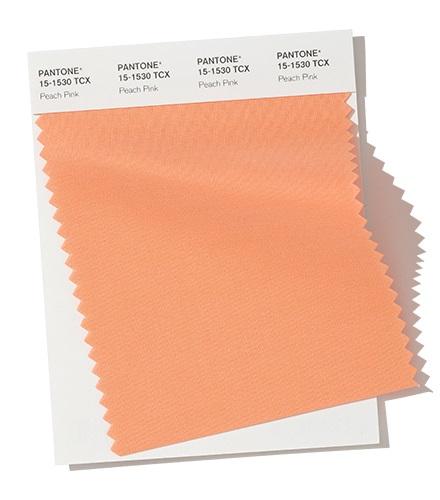PANTONE 15-1530 - Peach Pinkмодный цвет осень зима 2020