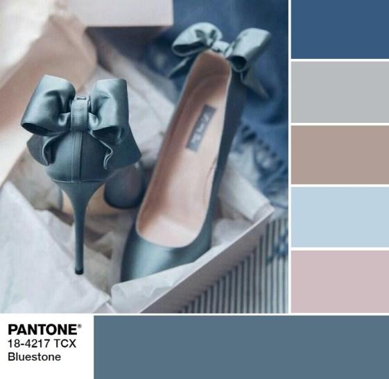PANTONE 18-4217 Bluestone palette