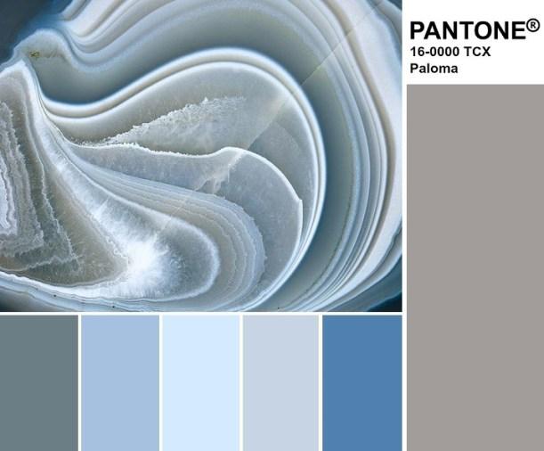 Pantone 16-0000 Paloma Palette