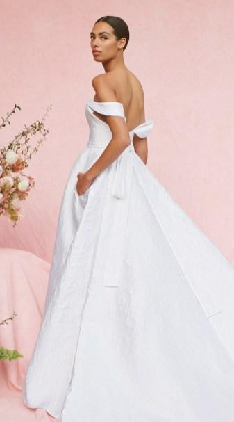 Carolina Herrera New York Bridal Fall 2020