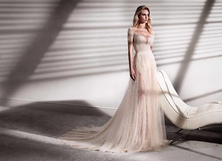 красивые модные итальянские свадебные платья