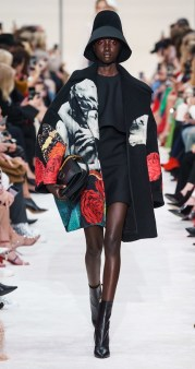 Valentino модное пальто оверсайз осень зима 2019 2020