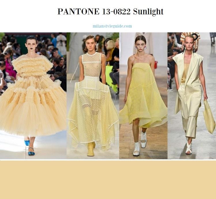 PANTONE 13-0822 Sunlight