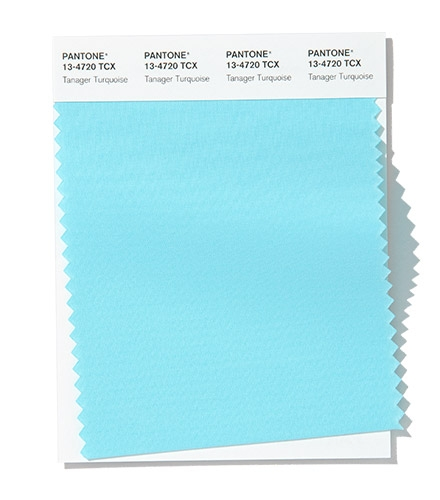 PANTONE 13-4720 Tanager Turquoise