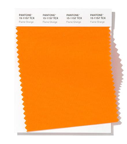 PANTONE 15-1157 Flame Orange