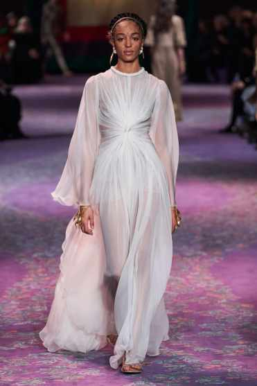 Dior wedding dress couture SS 2020