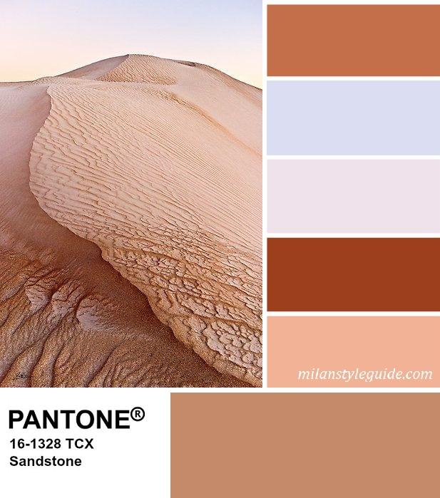 PANTONE 16-1328 Sandstone - Песчаник