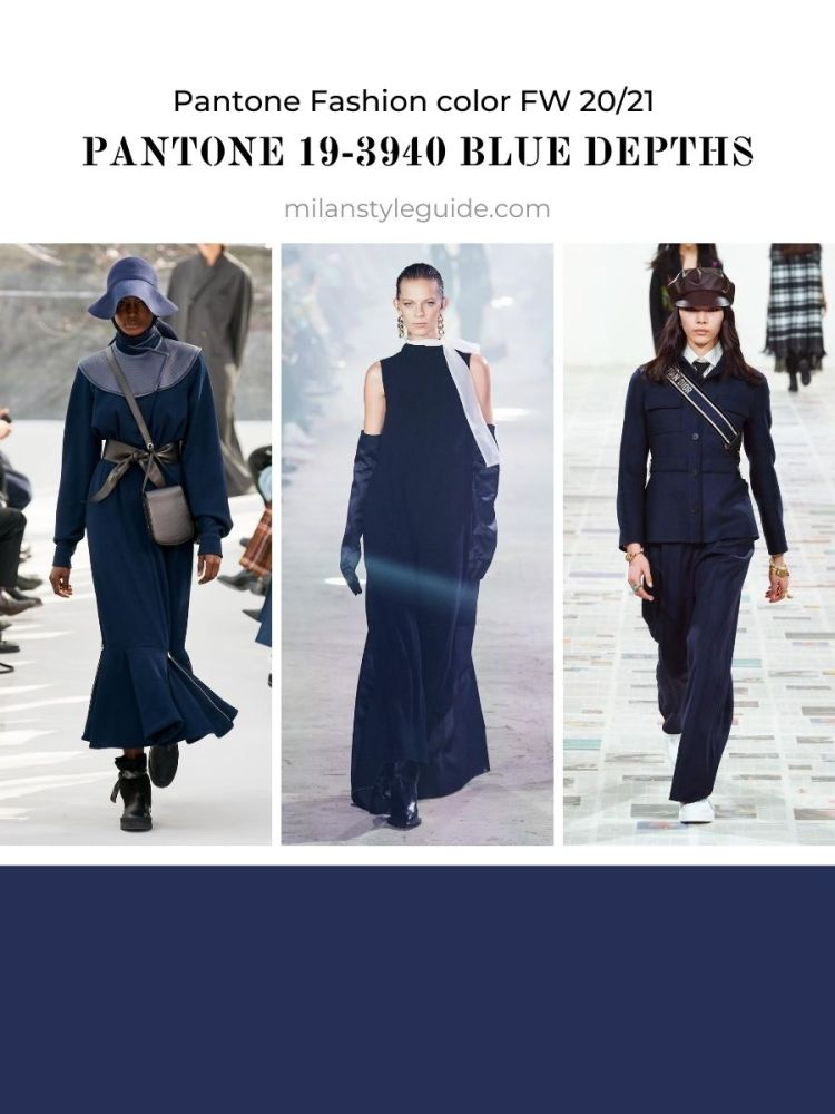 PANTONE 19-3940 Blue Depths