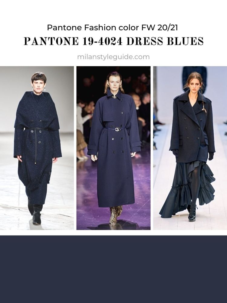 PANTONE 19-4024 Dress Blues