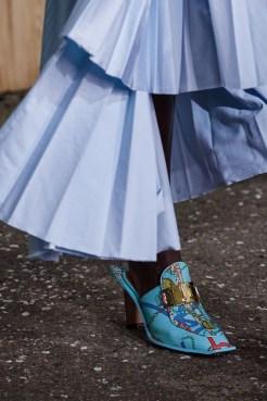модные тенденции обувь 2020 - винтажная обувь
