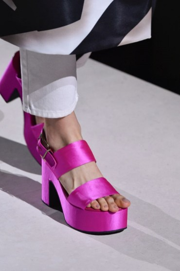 модная обувь 2020 - тенденции весна лето осень 2020 - обувь на платформе