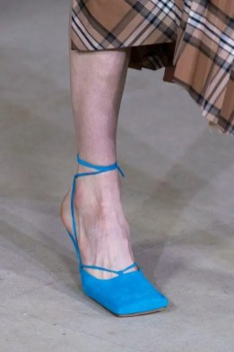 модная женская обувь весна лето 2020 года - тенденции квадратный нос