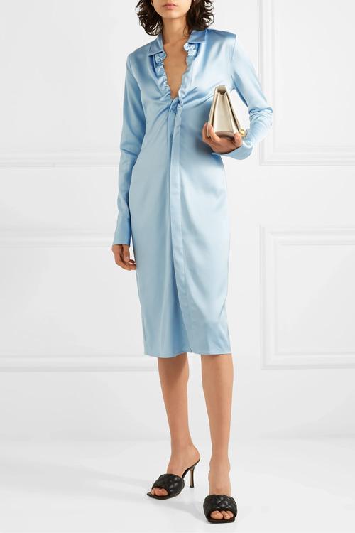 модное платье рубашка лето 2020