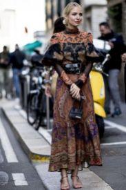 модные платья бохо 2020