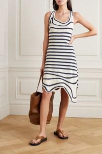 модное платье рваный подол лето и осень 2020
