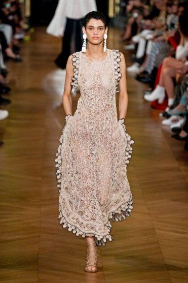 модные платья 2020 фото тренд - платье связаное крючком