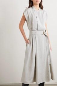 модное платье на работу на запахе 2020 год