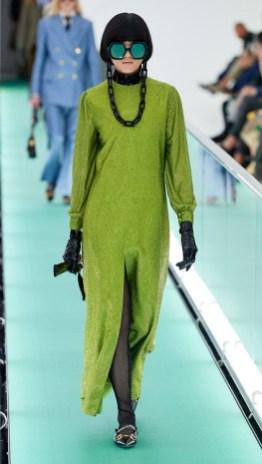 модные платья лето осень 2020 зеленого цвета