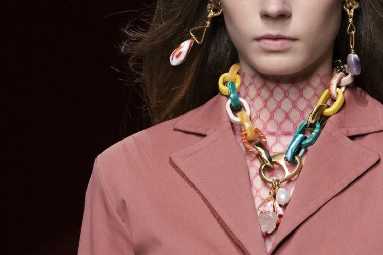 Модные украшения 2020 тенденция цепи