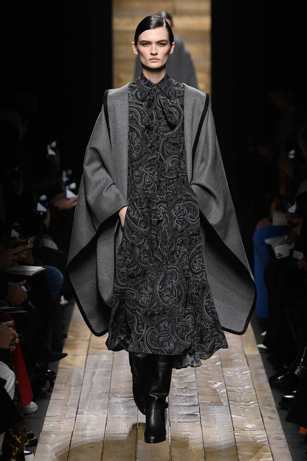 модные тенденции пальто осень 2020 зима 2021 пончо