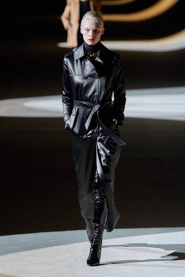 модное кожаное пальто 2020 2021