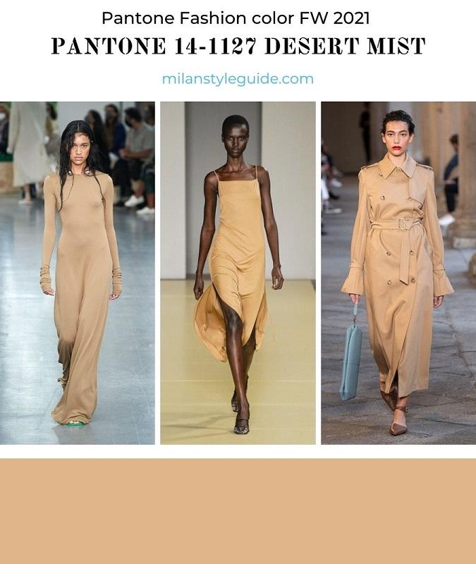 PANTONE 14-1127 Desert Mist - Пустынный туман