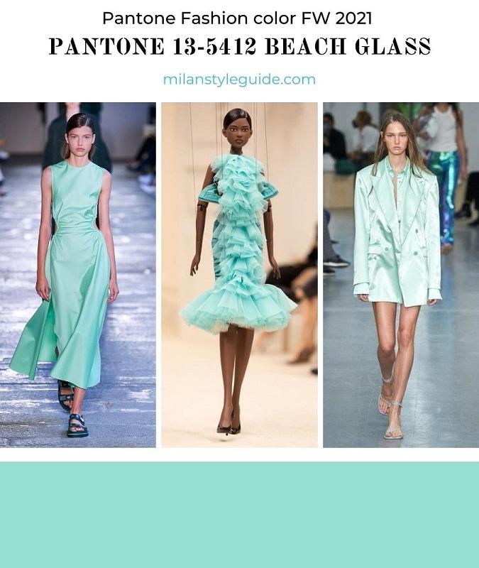 PANTONE 13-5412 Beach Glass - Пляжное стекло