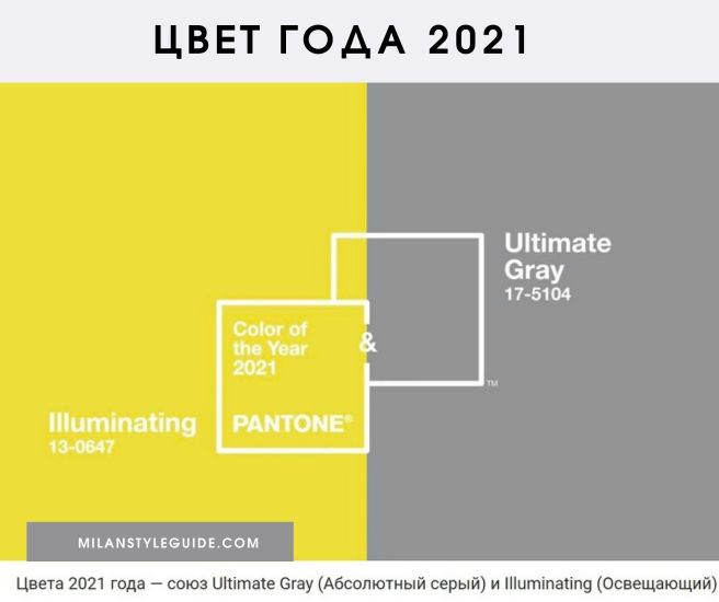 Color of the Year 2021 Ultimate Gray and Illuminating