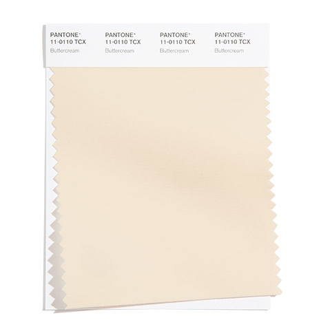 PANTONE 11-0110 Buttercream - Сливочный крем