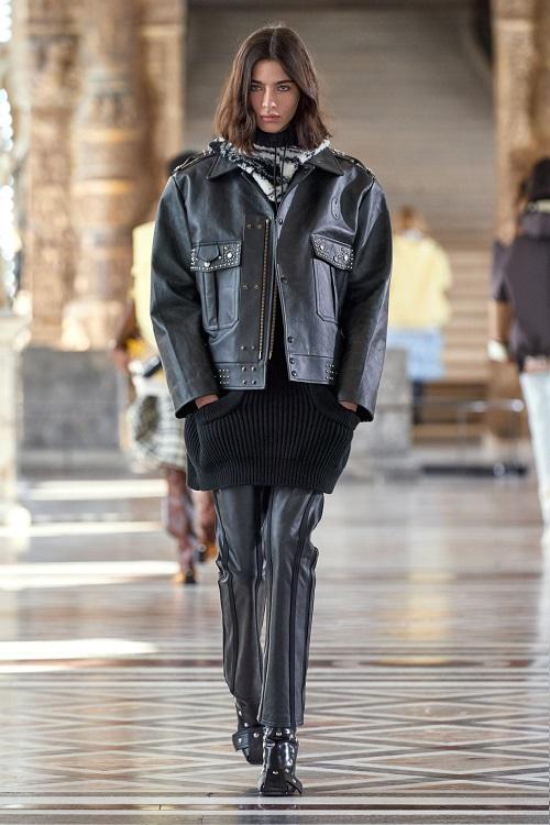 модные кожаные куртки 2021 Луи Виттон