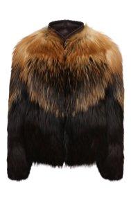 модная шуба из меха лисы 2020 2021 TOM FORD