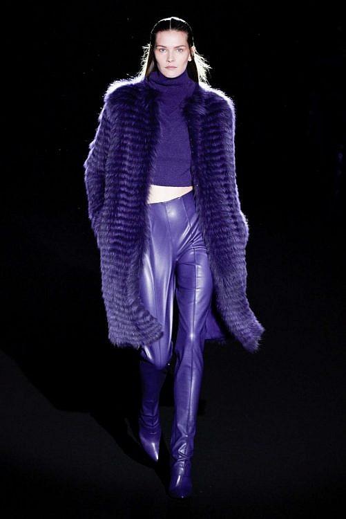 модная шуба из меха лисы 2020 2021
