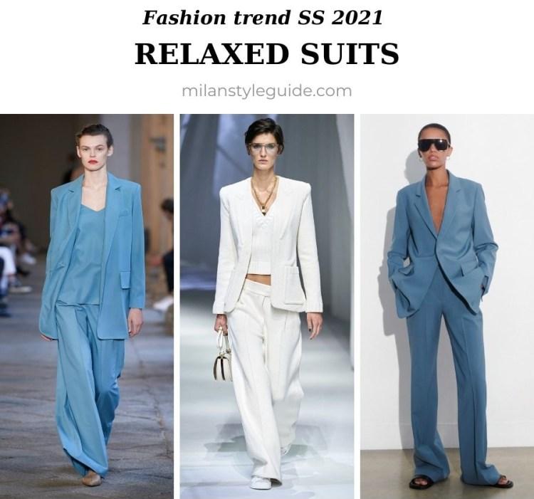 модный тренд весна лето 2021 костюм