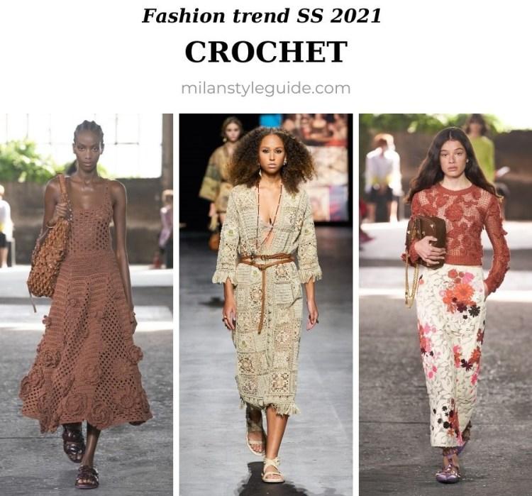 модный тренд весна лето 2021 вызяные вещи кроше