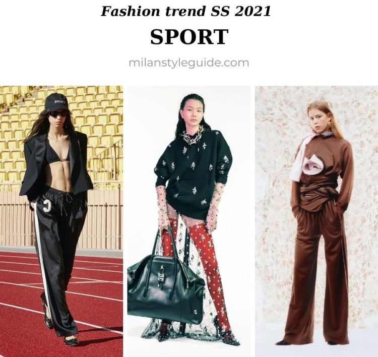 модный тренд весна лето 2021 спортивный стиль