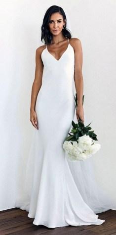 свадебные тенденции 2021 - тренд короткое свадебное платье комбинация