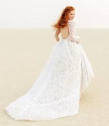 простые свадебные платья модный тренд 2021 голая спина