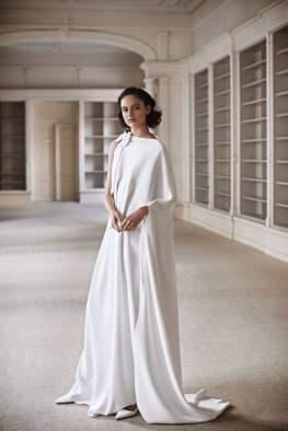 свадебные платья с накидками модный тренд 2021