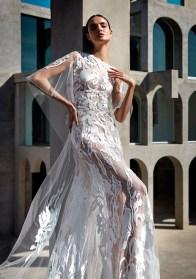 прозрачные свадебные платья модный тренд 2021