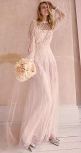 блестящие свадебные платья модный тренд 2021