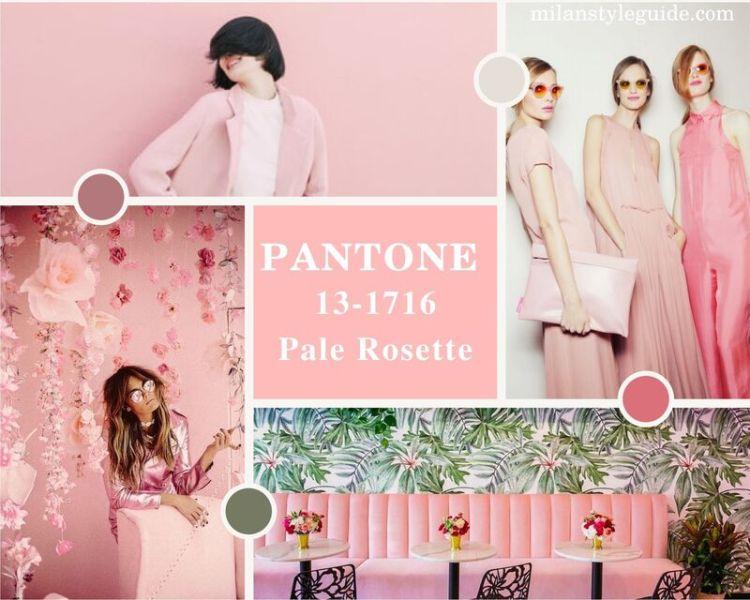 модный розовый цвет осень зима 2021-2022