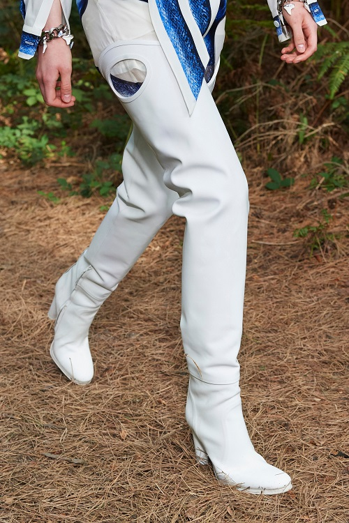 модные сапоги ботфорты весна и осень 2021