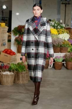 Модные пальто 2021 2022 тренд классическое пальто в клетку