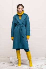 Модные пальто 2021 2022 тренд пальто халат на запахе