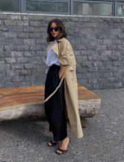 как стильно носить модный тренч весной 2021
