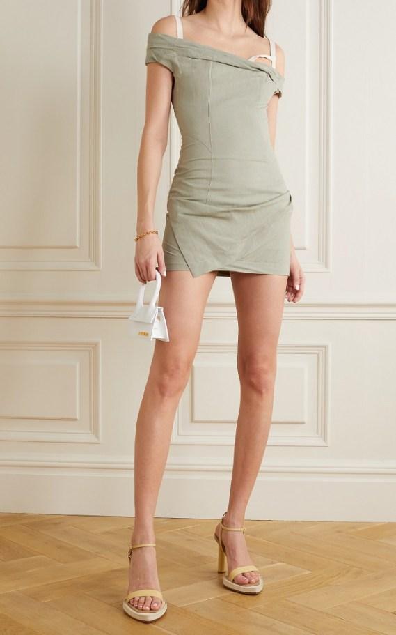 самые модные платья лето 2021 года - модные тренды мини-платье