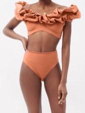 модный купальник MAYGEL CORONEL карамельного цвета
