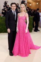 Brooklyn Beckham and Nicola Peltz in Valentino Haute Couture Met Gala 2021