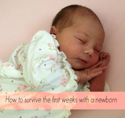 first weeks with a newborn